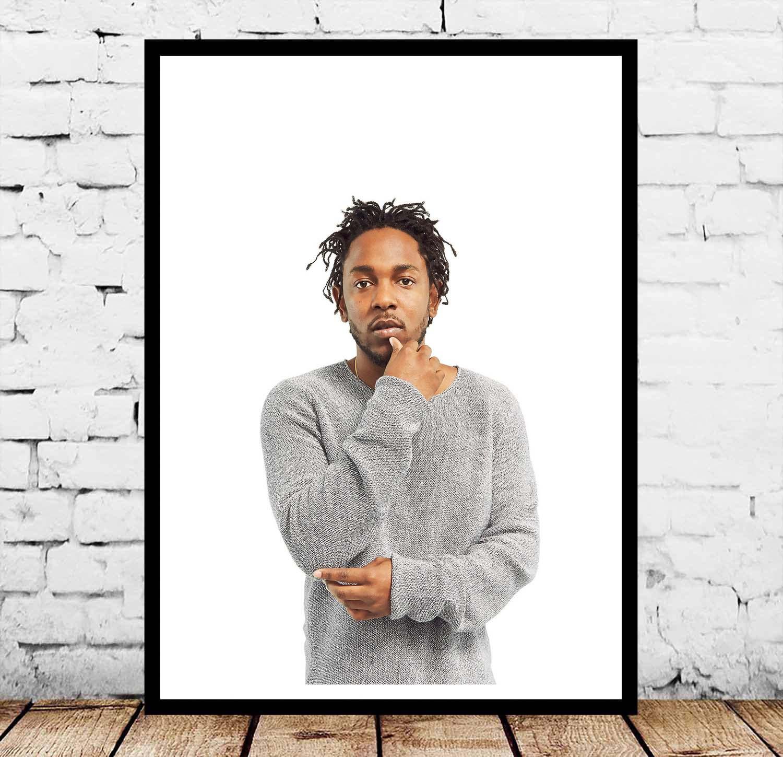 Kendrick Lamar música Hip Hop póster arte de pared
