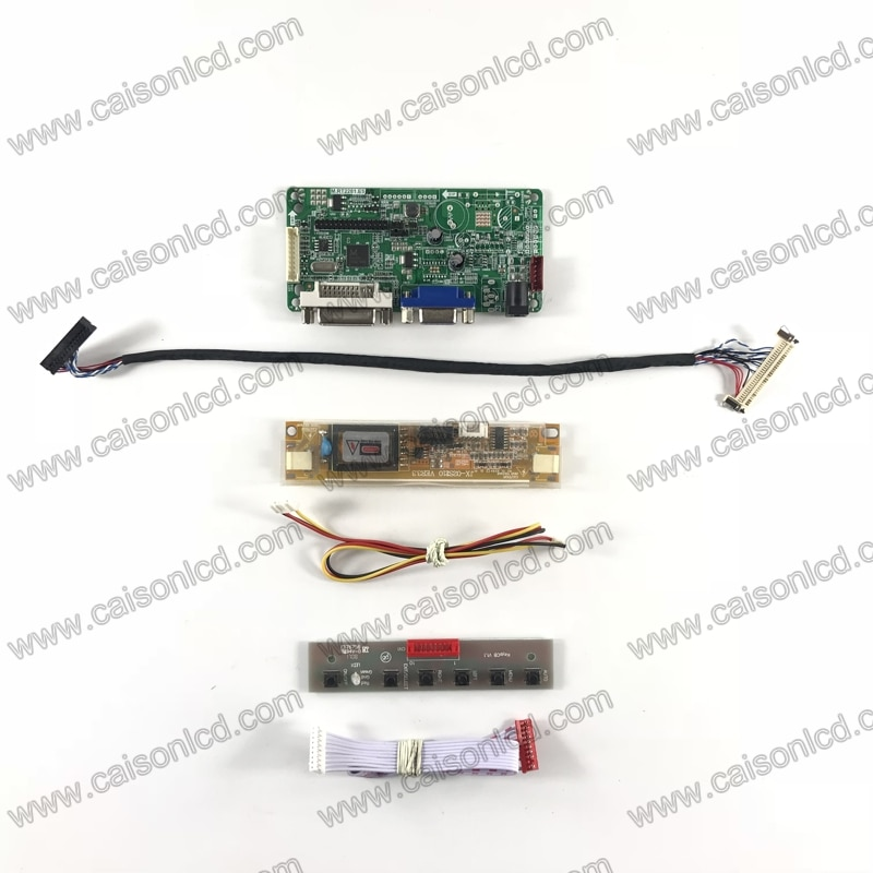 RT2281 ЖК-плата контроллера Поддержка DVI VGA для 18,5 дюймов ЖК-панель 1366X768 M185XW01 VJ LM185WH1-TLH6 M185B1-L02 M185XW01 V8