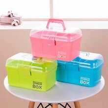 Baby Healthcare Kit Medical Care Set Portable Medicine Family Box Expenses First Aid Kit Medicine Box Child Baby Drug Storage
