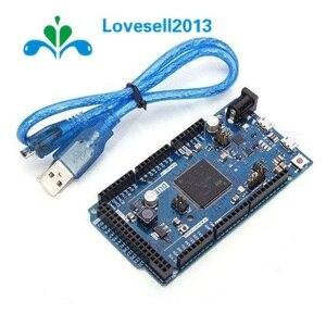 1Set DUE R3 Board SAM3X8E 32-bit ARM Cortex-M3 Control Board Module With USB Cable For Arduino