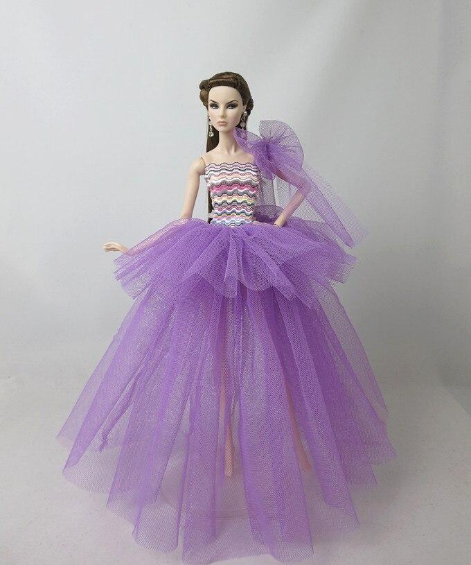 Funda original de sueño para barbie, conjunto de vestidos de princesa, muñeca...