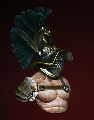 1/20 Scale Resin Bust Roman Gladiator
