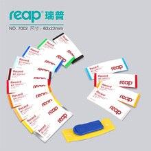 10 stks/1 Partij Reap7002 ABS 68*22mm magnetische naamplaatje badge houder magneet badges Card ID houders werk werknemer kaart