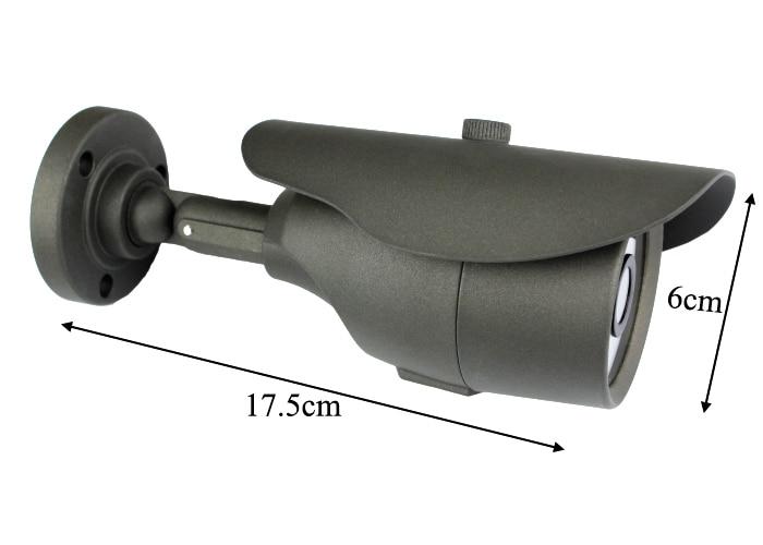 Hot CMOS 1000TVL IR 36LED Outdoor Security Waterproof CCTV Camera 3.6mm Lens Surveillance Equipment