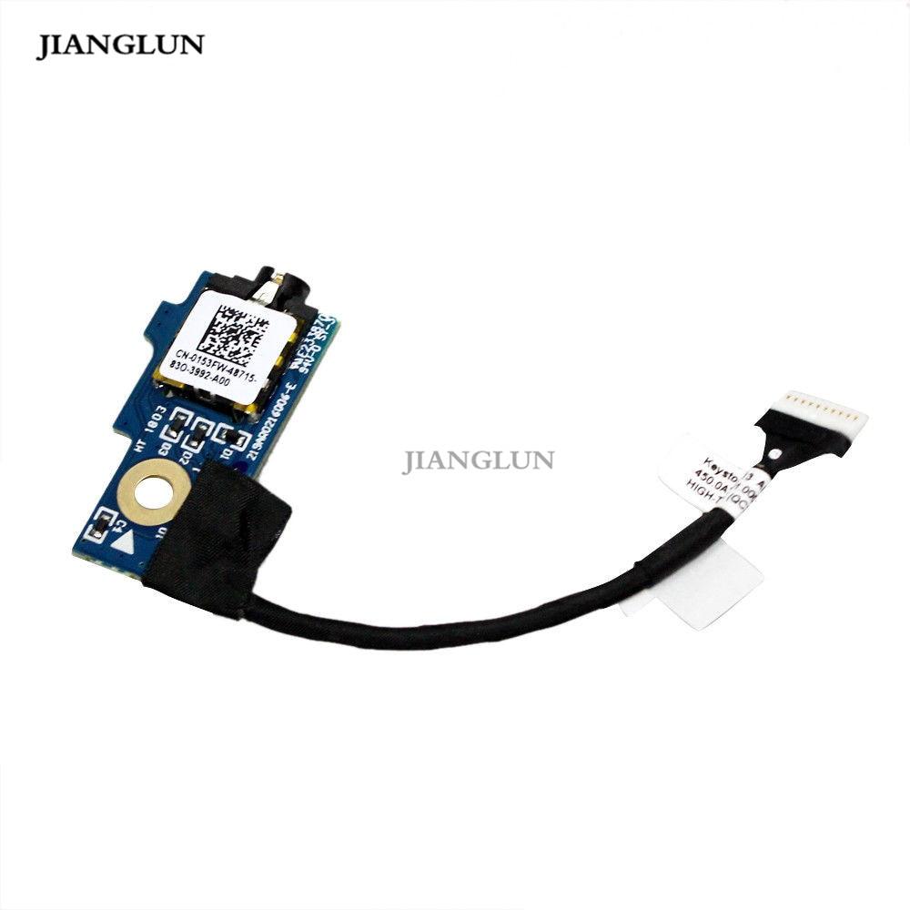 JIANGLUN tarjeta de audio AUD BD Cable 0153FW para DELL Latitude 13 3380 Chromebook