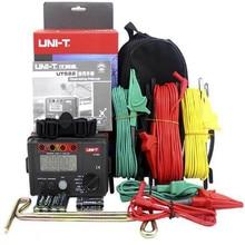 UNI-T UT522 Digital Aterramento Resistência Tester Lightning Rod Detector Relâmpago Baixo tester
