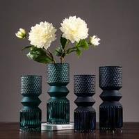 nordic morandi glass vase home decoration modern minimalist creative table model water culture flower arrangement