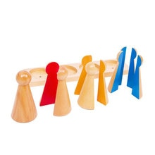 Montessori Math Fractions Skittles Montessori Math Materials Montessori Educational Wooden Toys For Children Juguetes ME1464H