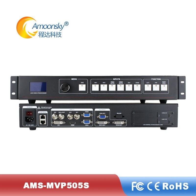 Tela de Vídeo Cortina Processador Switcher Mvp505s vs Kystar Sinais Display Controlador Ks600 Led Sdi