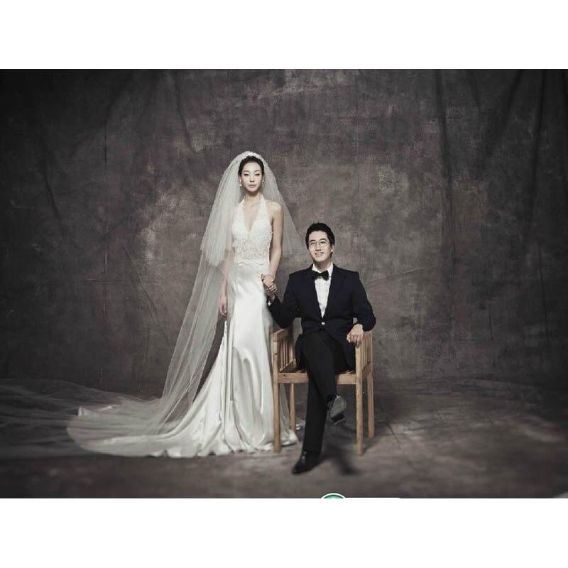 Fondos de muselina Pro teñido para estudio fotográfico pintura de viejo maestro Vintage fotografía fondo personalizado boda telón de fondo DM-071