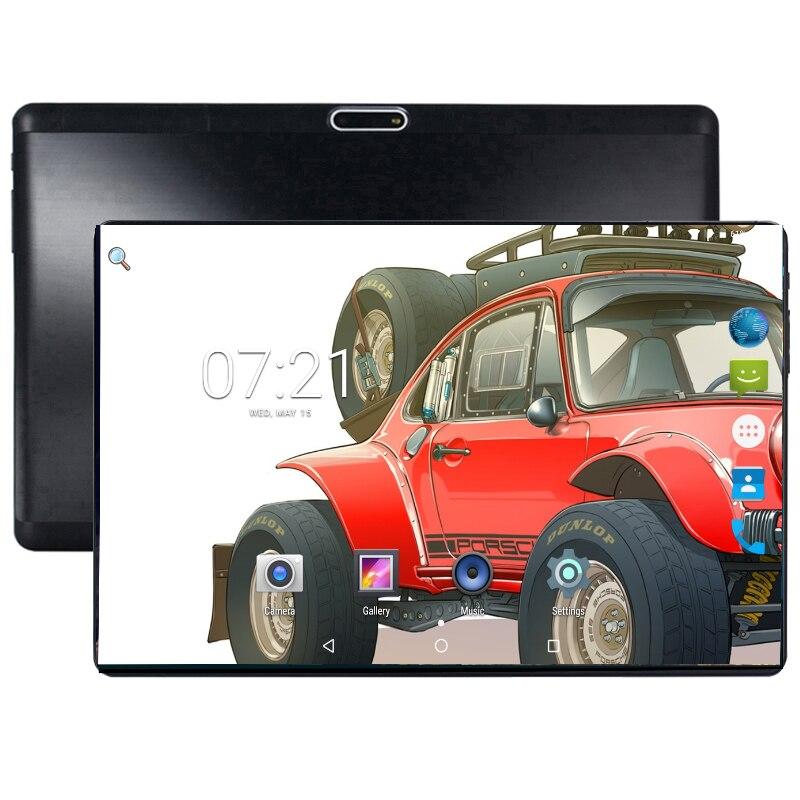 Super templado 2.5D de 10 pulgadas Tablet Android Oreo Octa Core 4 GB RAM 64 GB ROM 1280*800 tarjetas SIM Dual tabletas 10,1 + regalo