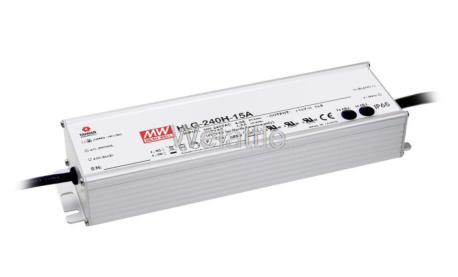 Decir bueno original HLG-240H-36B 36V 6.7A HLG-240H 36V 241,2 W IP67 solo LED de salida PWM controlador de atenuación de alimentación tipo B