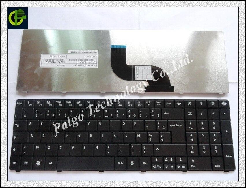 لوحة مفاتيح فرنسية لأيسر ترافل ميت TM 7740 7740G 7740Z 7740ZG لوحة مفاتيح أزيرتي سوداء