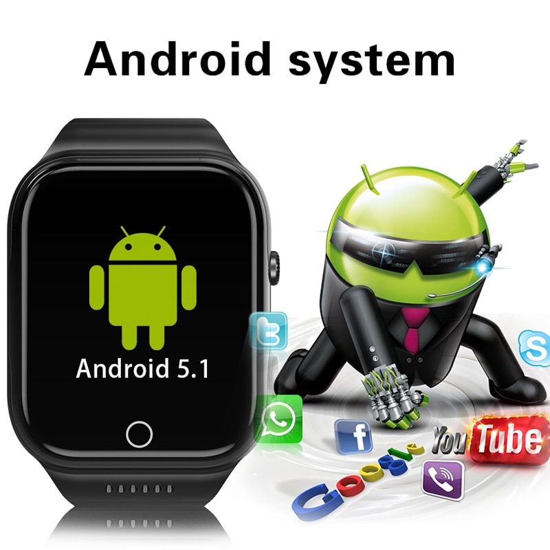 Ravi Android reloj inteligente X89 con cámara posición GPS navegación WIFI 4G 8G 16G Bluetooth Smartwatch hombres reloj con tarjeta SIM teléfono