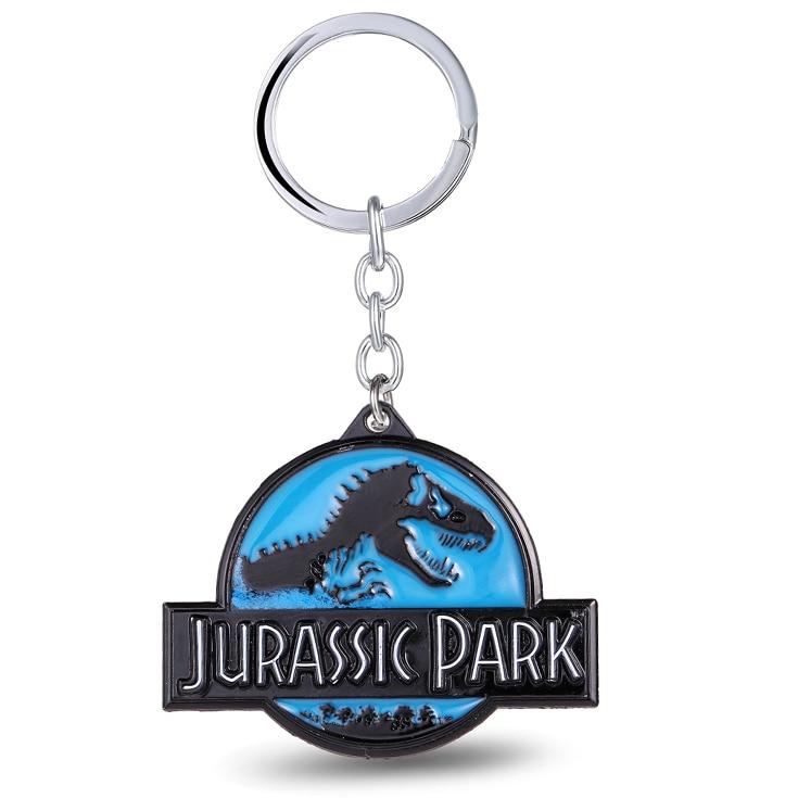MS Jewels Парк Юрского периода брелок для ключей динозавры металлические брелки для подарка Chaveiro брелок ювелирные изделия