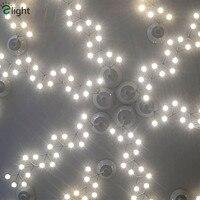 Josephine Queen Lustre Diy Chandelier Modern Minimalism LED Ceiling Chandelier Acrylic Plum Blossom Ceiling Mounted Lighting