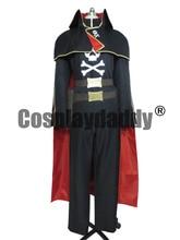 Captain Harlock Albator Versie 3 Ruimte Piraat Cosplay Kostuum