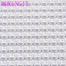 10-1000 pz SK6812 WS2812B 5050 RGB LED e PCB Board-LED Indirizzabili Modulo Pixel Luce 5 V mini PCB board (10mm * 3mm) dissipatore di calore