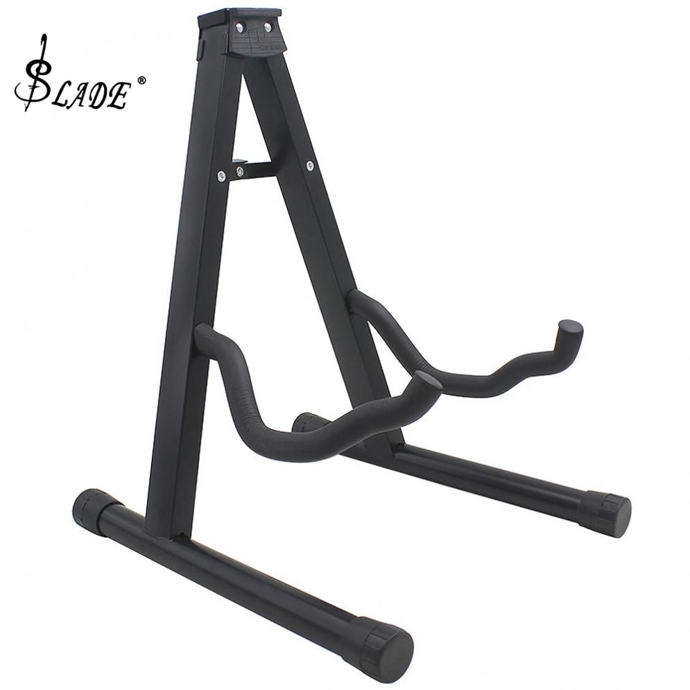 Portable Folding Tripod Guitar Stand String Instruments Holder for Acoustic Electronic Guitar Bass Ukulele Violin Cello enlarge