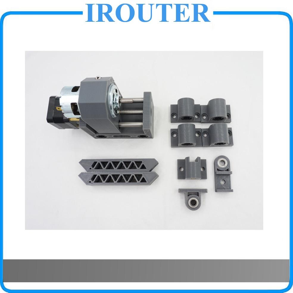 Cnc1610 cnc2418 cnc3018 חלקי מכונת, cnc אביזרים, ציר בורג פולני pod קבוע חלקי, cnc 1610 2418 3018