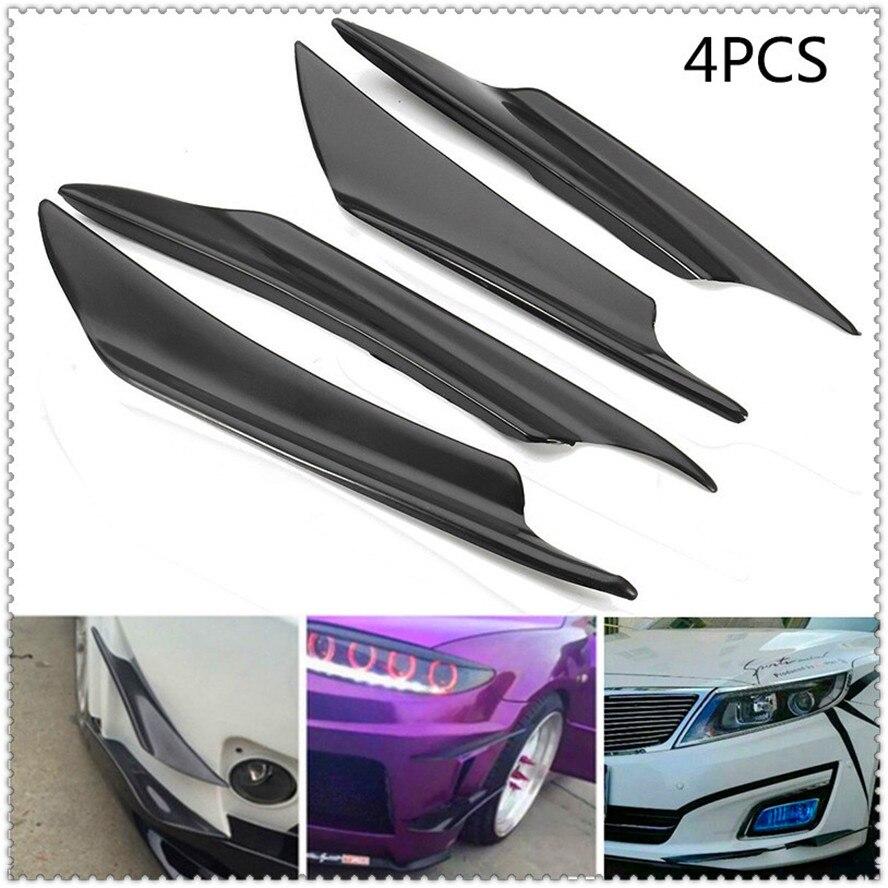 Auto Stoßstange Lip Splitter Fin Canard Flügel Spoiler FÜR Chevrolet Trailblazer Onix Tru Orlando Code Captiva Aveo Segel