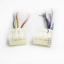 Biurlink Car Radio Stereo Harness Cable Wiring Adapter for Hyundai K2 K3 K4 K5 IX35 IX45 Onwards 2016