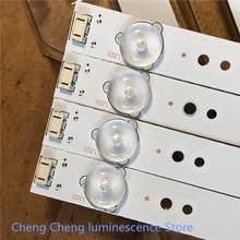 36Pieces/lot   FOR   Skyworth   50E3500 50E6100 50X5 50E5DH 50X5  LCD backlight lamp  5800-W50002-2P00   488MM   6v