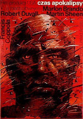 Apocalypse Now Polish película Retro Vintage cartel para pared decorativa pegatina lienzo pintura arte hogar Decoración regalo