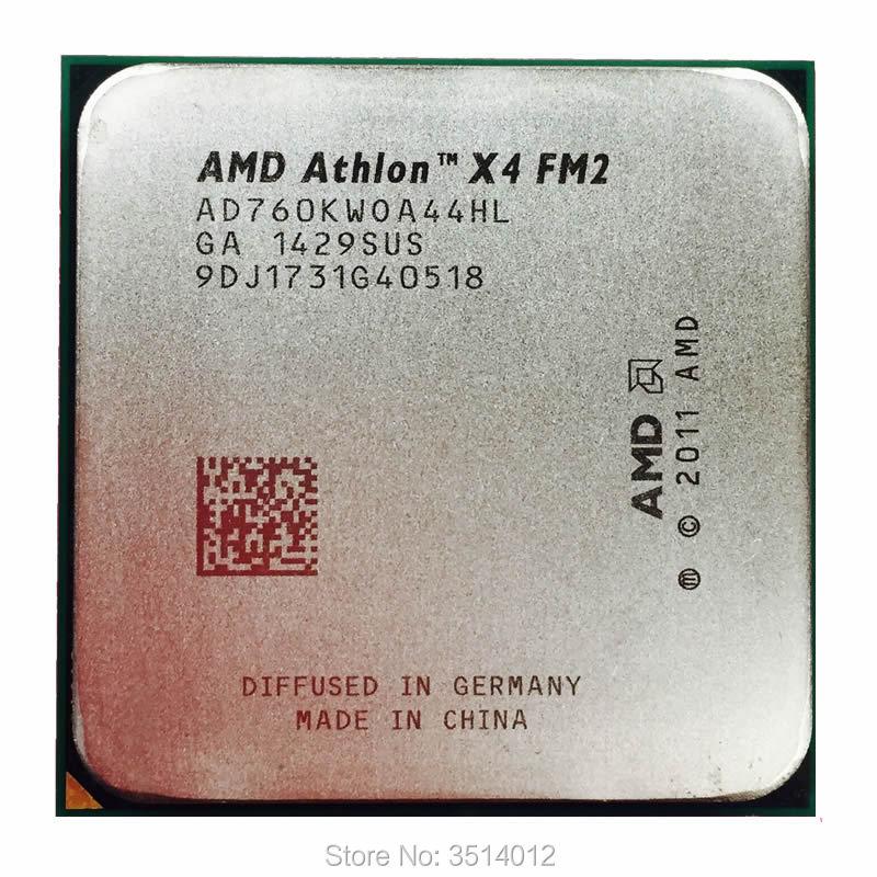Четырехъядерный процессор AMD Athlon X4 760 K 760 K 3,8G AD760KWOA44HL Socket FM2