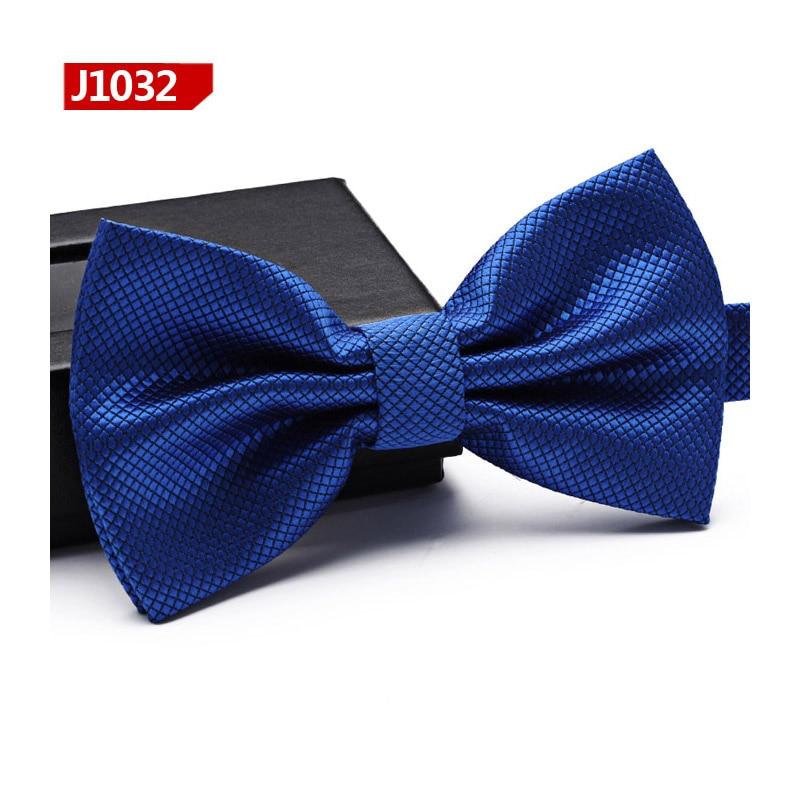 2017 New Mens Business Bow Tie Luxury Groom Wedding Bowtie High Quality Men Neckties Twill Bowtie Solid Dark Grey Purple Blue