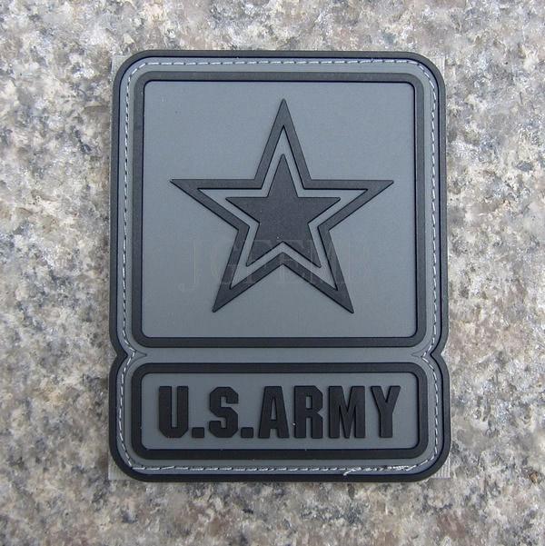 Acu swat do exército dos eua logotipo militar tático moral 3d pvc remendo emblemas pb312