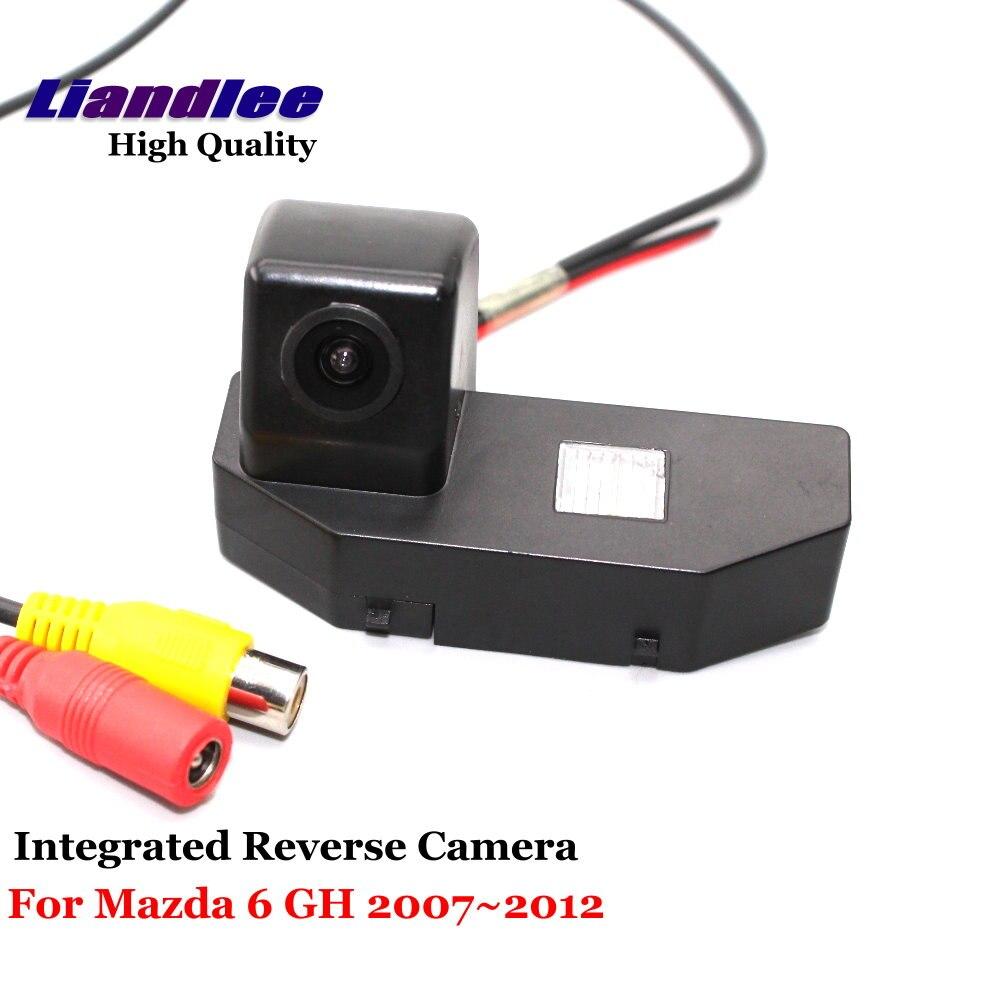 Cámara de Vista trasera de coche Liandlee para Mazda 6 M6 GH Mazda6 Ruiyi 2007 ~ 2012 cámara de respaldo de estacionamiento inverso/SONY integrado
