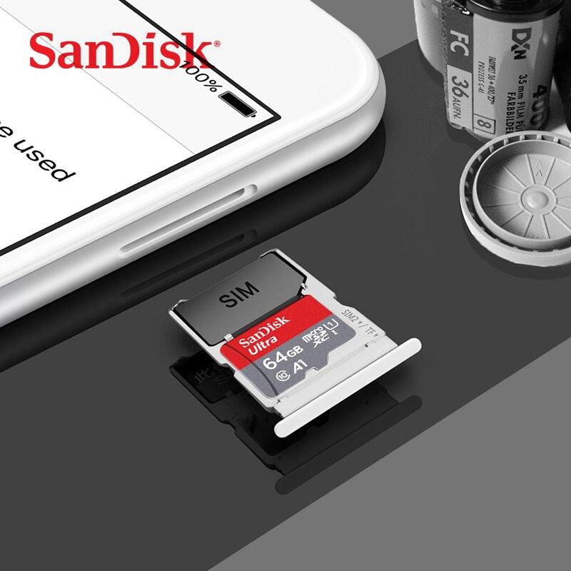 Cartão de memória tf 64 gb 128gb microsdh microsd 64 gb sandisk micro sd 16 gb carte sd 32 gb tarjeta