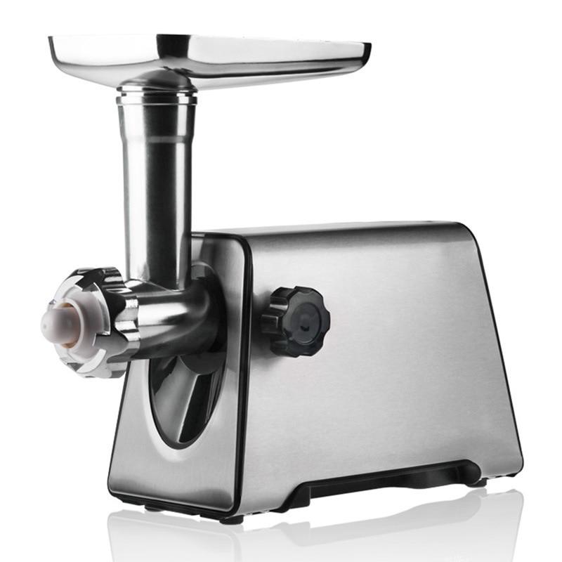 Picadoras De carne De acero inoxidable De alta calidad, Cortadora eléctrica multifunción