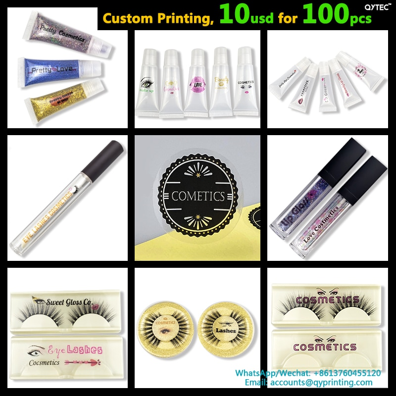 100 Uds. 35mm etiqueta personalizada hecha a mano vinilo transparente PVC pegatinas de agradecimiento logotipo de la marca de la boda sello adhesivo etiquetas