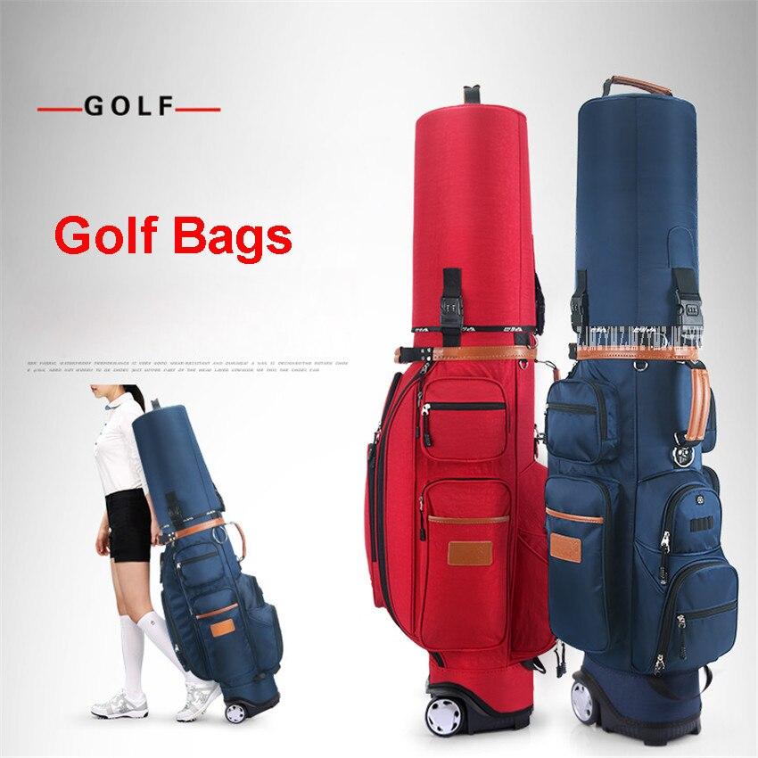 QB038 sac de balle de remorqueur multifonctionnel standard avec un mot de passe de serrure sac de golf gratuit sac thermostatique dair sac daviation de golf en nylon
