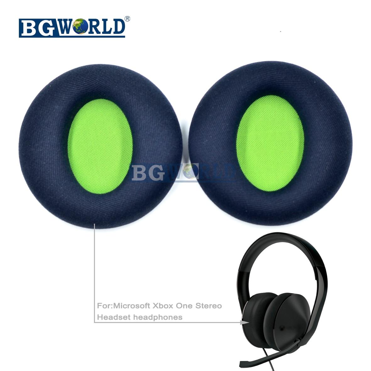 Almohadillas de espuma BGWORLD Repacement para auriculares, almohadillas de espuma para Microsoft Xbox One, auriculares estéreo, auriculares