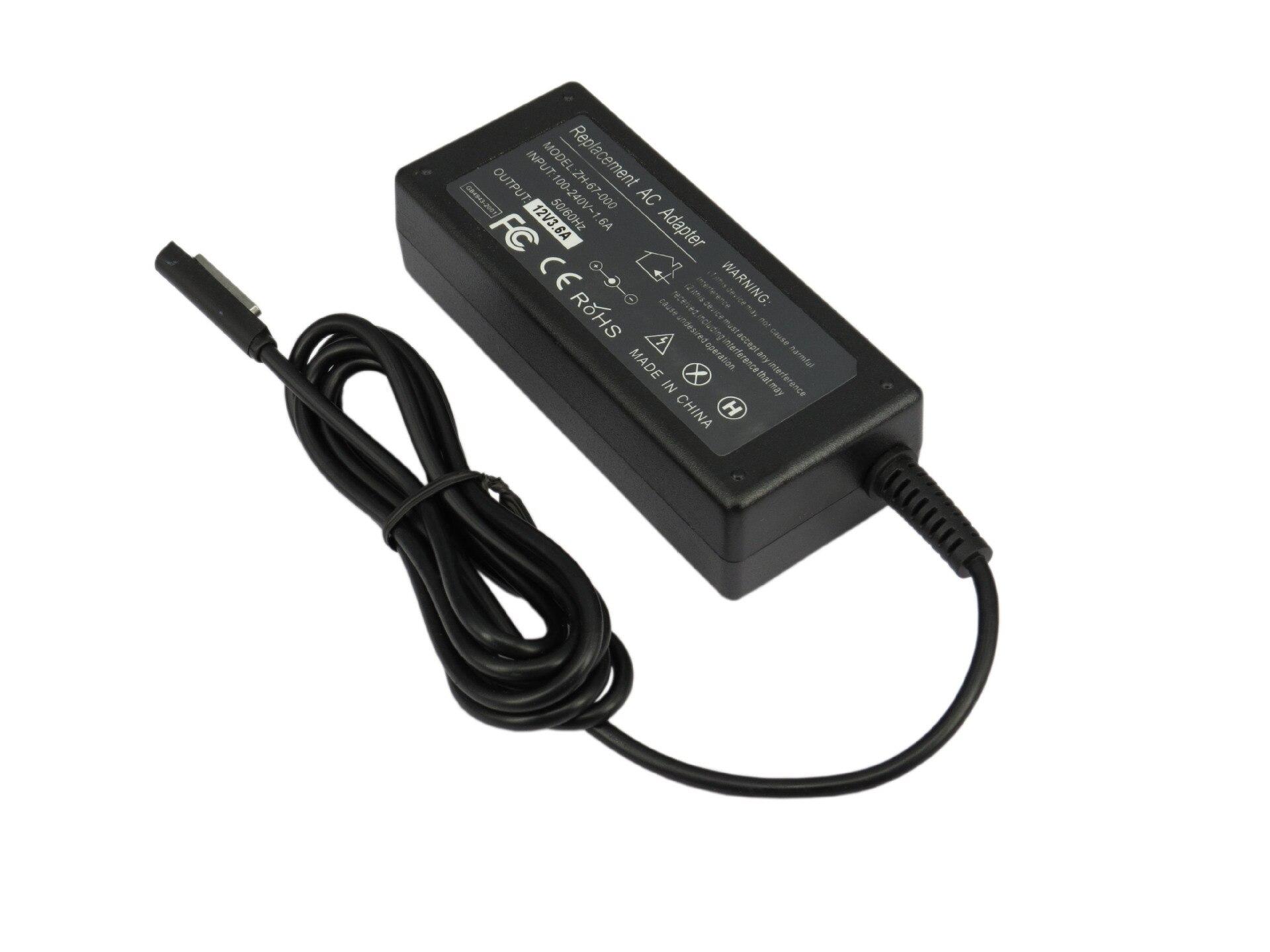 12 В 3.6A 45 Вт ноутбук AC Адаптеры питания для Microsoft поверхности PRO1 PRO2 RT Планшеты обувь по заводским ценам высокое качество