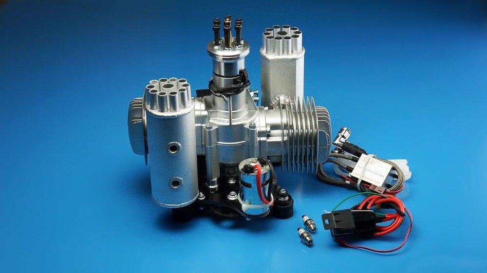 DLE 170CC DLE170 DLE170M Motor de gasolina/gasolina 170 w/autoarrancador eléctrico para la versión de autoarrancador de parotor eléctrico