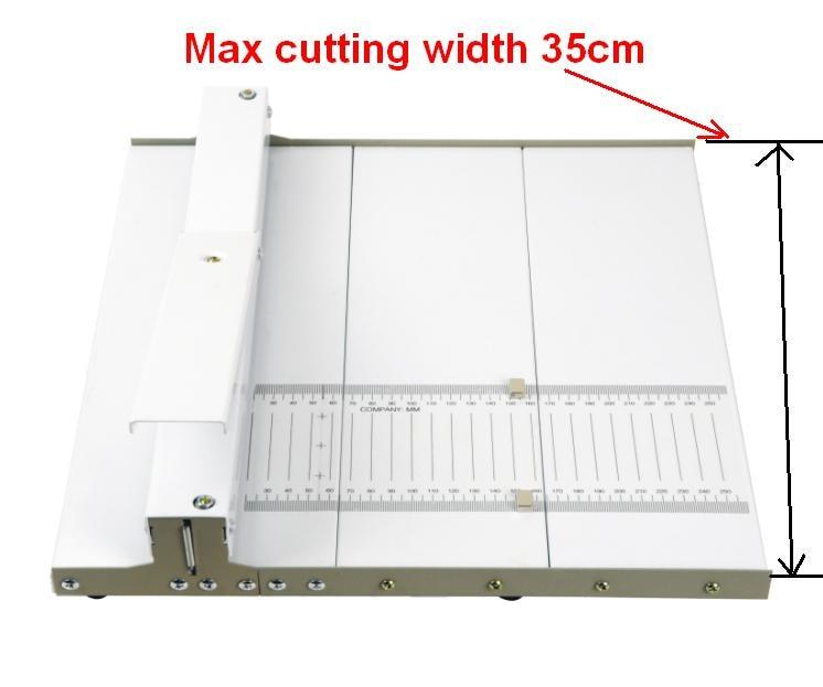 "Iron Metal Ream Guillotine 17"" A3 Size Stack Paper Cutter Paper Cutting Machine Photo Paper"