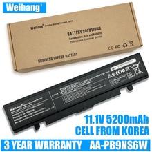 Weiwang – batterie portable 5200mAh, pour SamSung AA-PB9NS6B, R580, R540, R519, R525, R430, R530, RV511, RV411, RV508