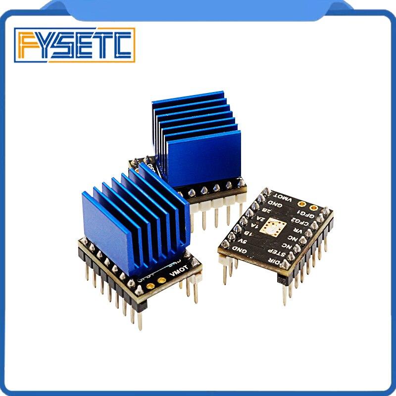 Módulo de Driver de Placa Exclusivo para Poderoso Peças da Impressora Tmc2100v1.0 para Stepstick Ultra-silencioso Excelente 5pcs 3d