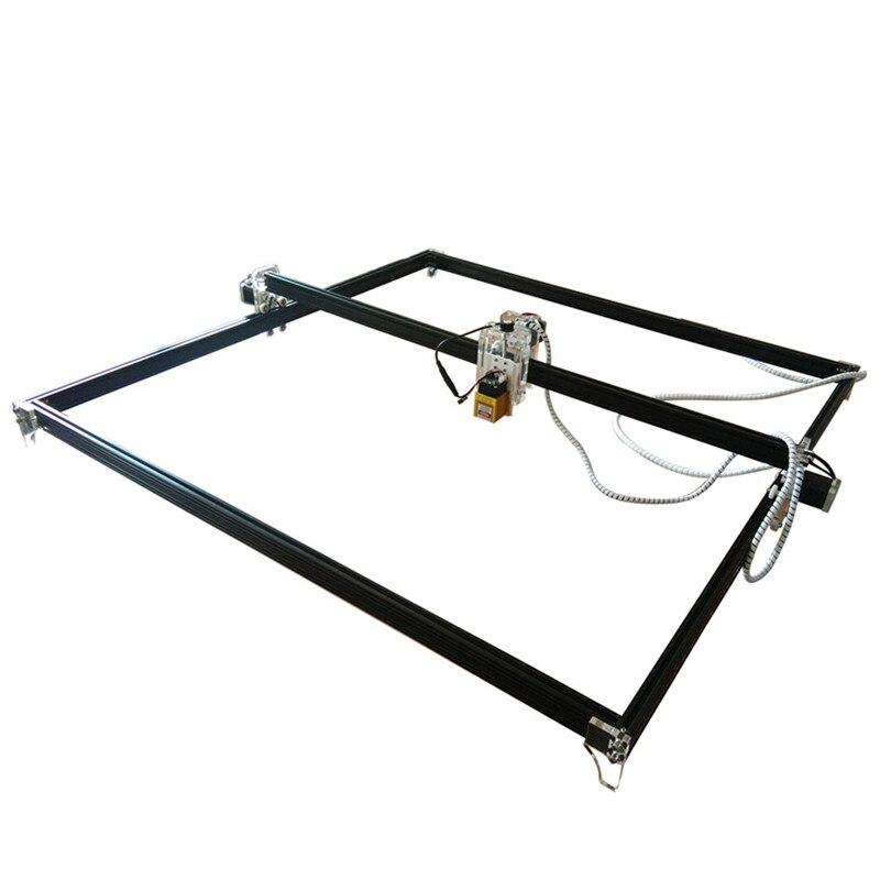 Máquina de grabado láser CNC DC DIY enrutador/cortador de madera de escritorio/impresora Mini 2500/5500MW 15W