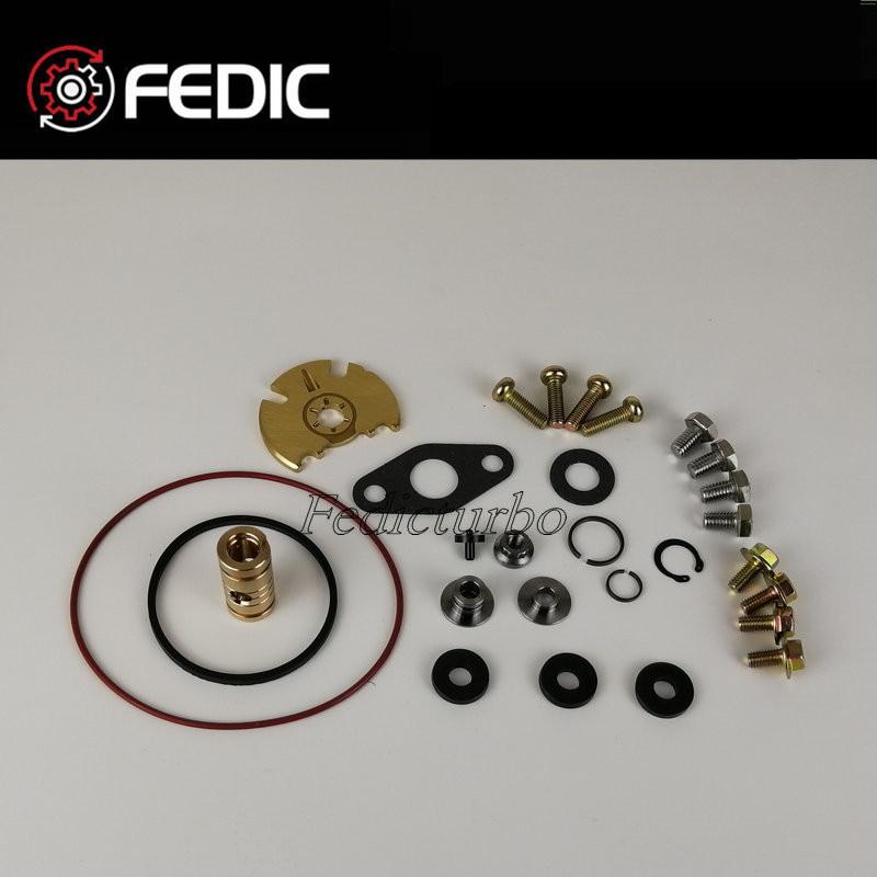 Kit turbocompresor reparación GT1749V 713517 802418 1S4Q6K682AF Turbo kits de remodelado para Ford Focus 1,8 TDCi 74Kw 85Kw TDCi 2001-