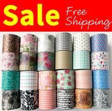Livraison gratuite ruban washi, Anrich washi tape 19 modèles pour sélectionner dans 40mm * 5m, #6498-6521, canette ruban décriture, conception de base, ruban large