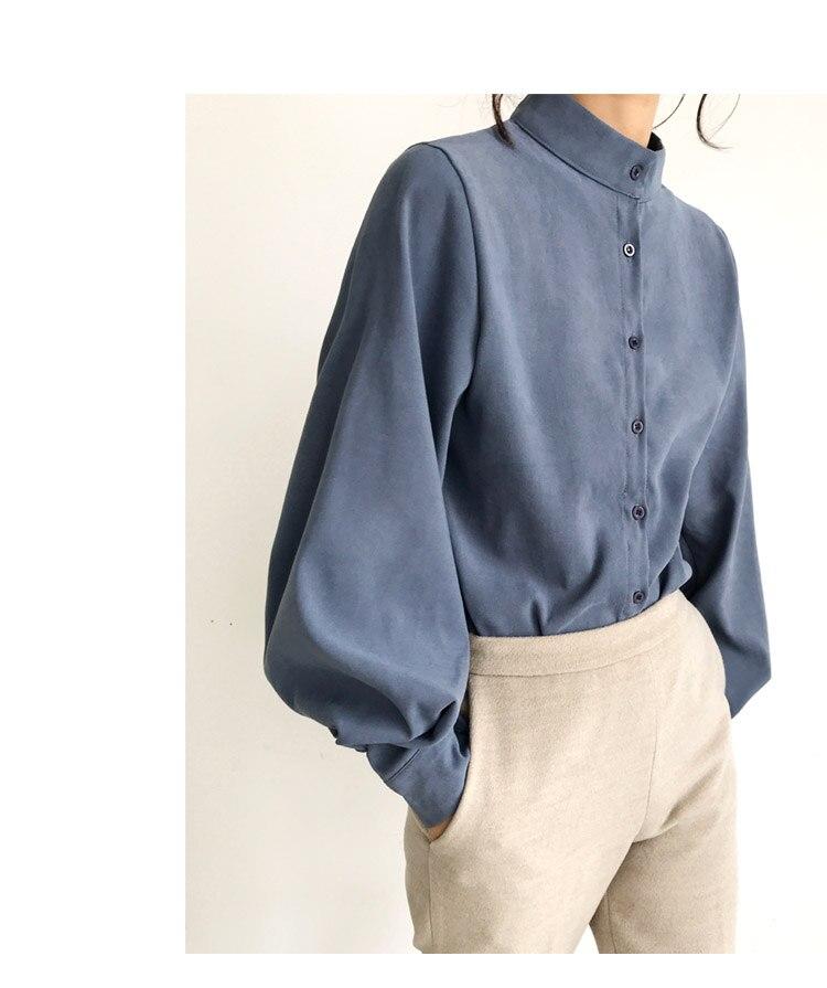Рубашка женская, винтажная, белая, большого размера, с длинным рукавом