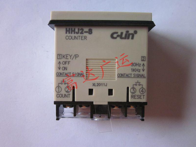 Contador de acumulación pasivo sin voltaje c-lin HHJ2-8 (H7EC) (batería de litio integrada)