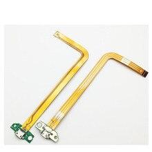 10 unids/lote pieza de repuesto para HP Slate 7 USB cargador conector Dock Port Flex Cable de alta calidad
