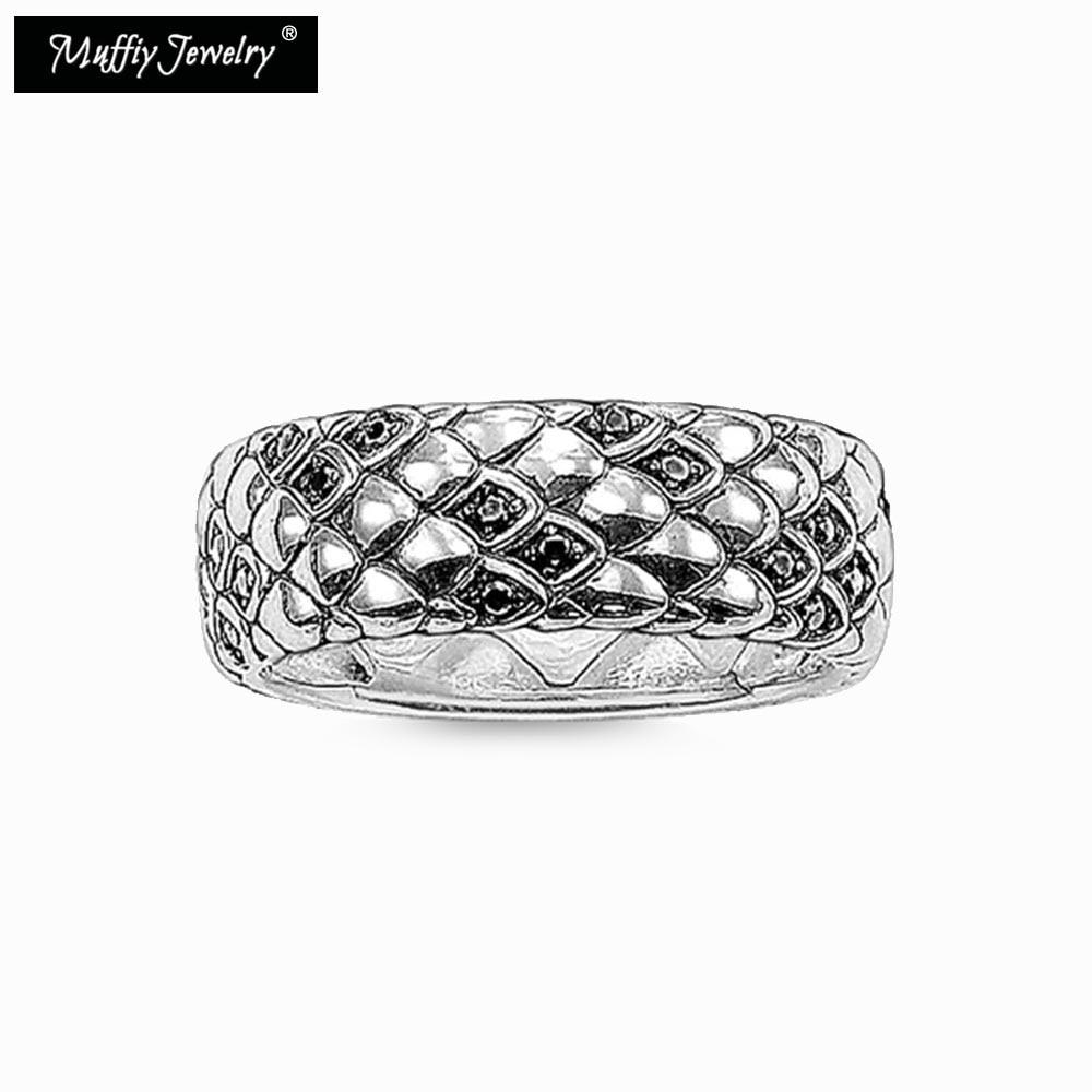 Anel de cobra, thomas estilo muffiy rebelde bom jewerly para homem e mulher, 2017 ts presente em 925 prata esterlina, super promoções