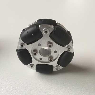 عجلة أومني مزدوجة القرص 60 مللي متر